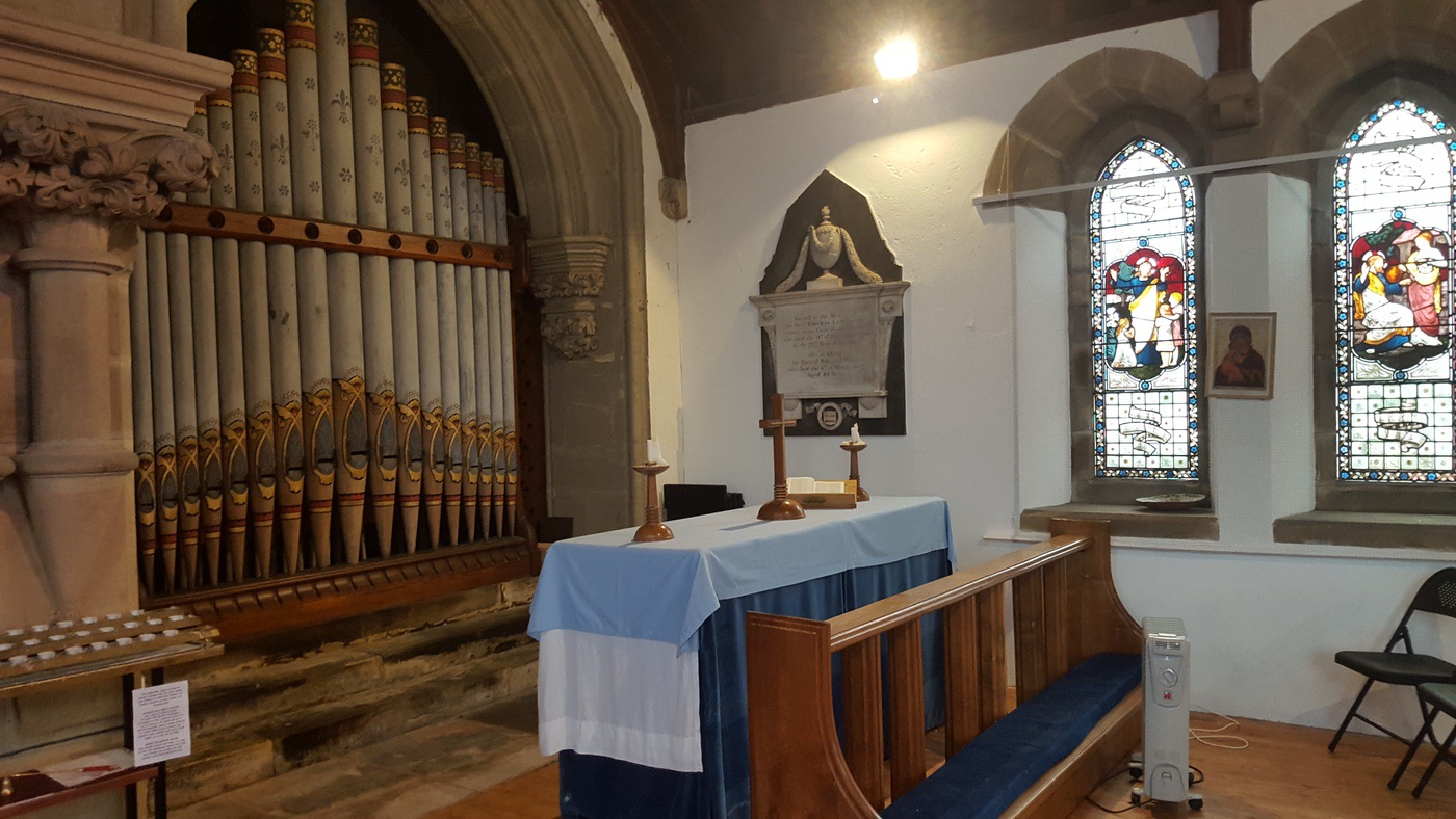 St Augustine's Organ and South Court